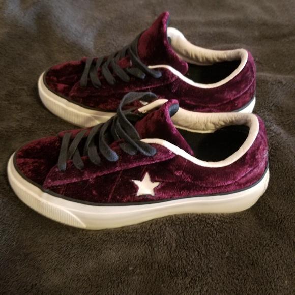 f70605ca3194 Converse Shoes - Converse One Star Velvet Platform
